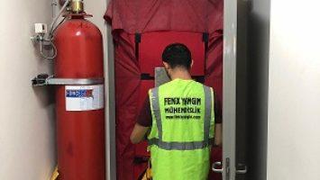 Gazlı Yangın Söndürme Sistemi