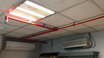 Otomatik Gazlı Yangın Söndürme Sistemleri