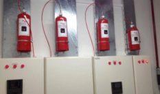 Pano İçi Gazlı Yangın Söndürme Sistemleri