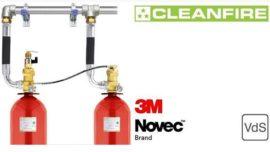 3M Novec 1230 Gazlı Yangın Söndürme Sistemleri