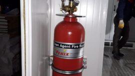 Konteyner Gazlı Yangın Söndürme Sistemi
